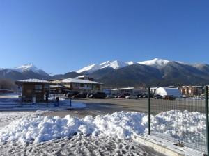Bansko Gondola Lift Base Station. Lift Pass