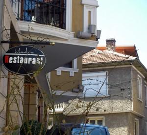 Hotel in street