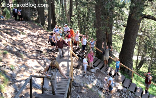 guided hiking and mountain walking
