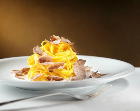 Come Prima white truffle dish on a plate