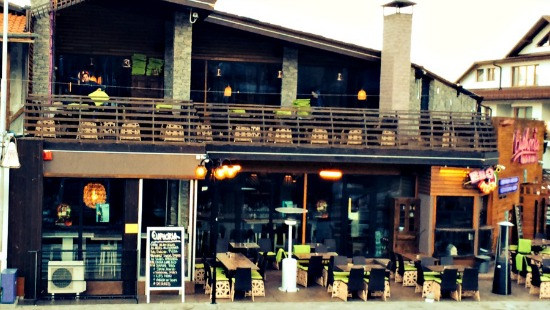 Euphoria Bar and Grill Bansko sun deck