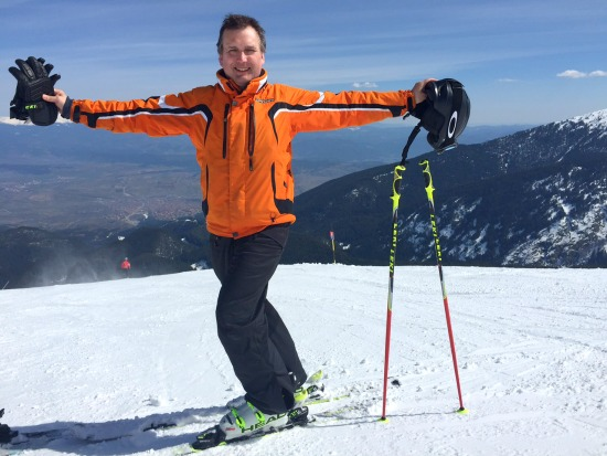 A personal recount about a ski season