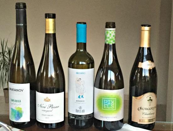 Bulgarian white wine