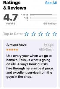 Bansko App You Say
